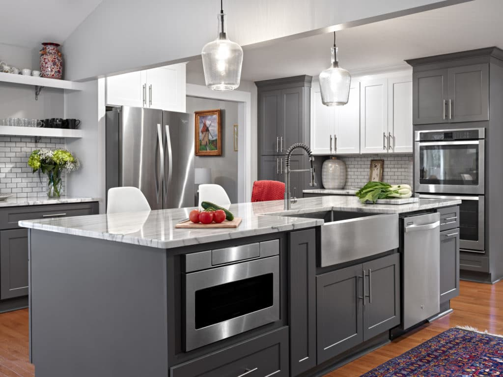 Procraft Cabinetry Flintstone Marble And Granite
