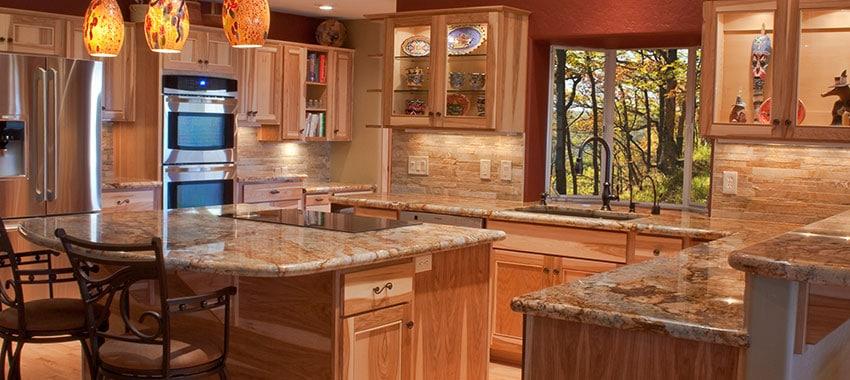 Quartz kitchen countertops | Flintstone Marble and Granite