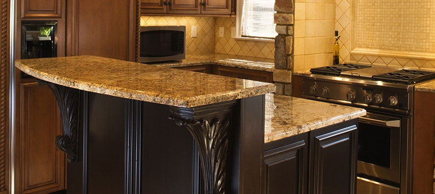 How To Fix Problems With Kitchen Countertops Flintstone Marble And Granite